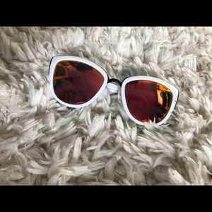 Quay white my girl sunglasses